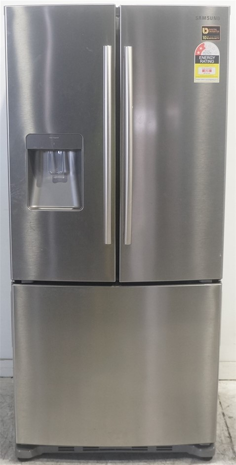 Samsung SRF533DLS - 533L Stainless Steel French Door Refrigerator