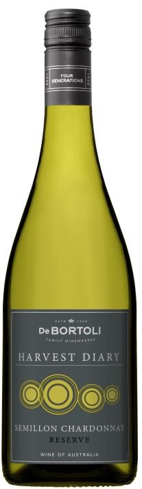Harvest Diary Semillon Chardonnay 2018 (12 x 750mL) Riverina, NSW