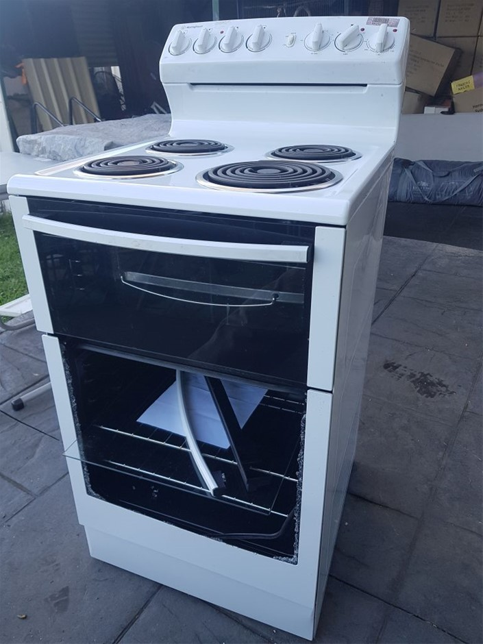 Westinghouse WLE525WA, 54cm Electric Upright Cooker