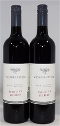 Voyager Estate `Project v9 Old Block` Cabernet Sauvignon 2012 (2x 750ml)