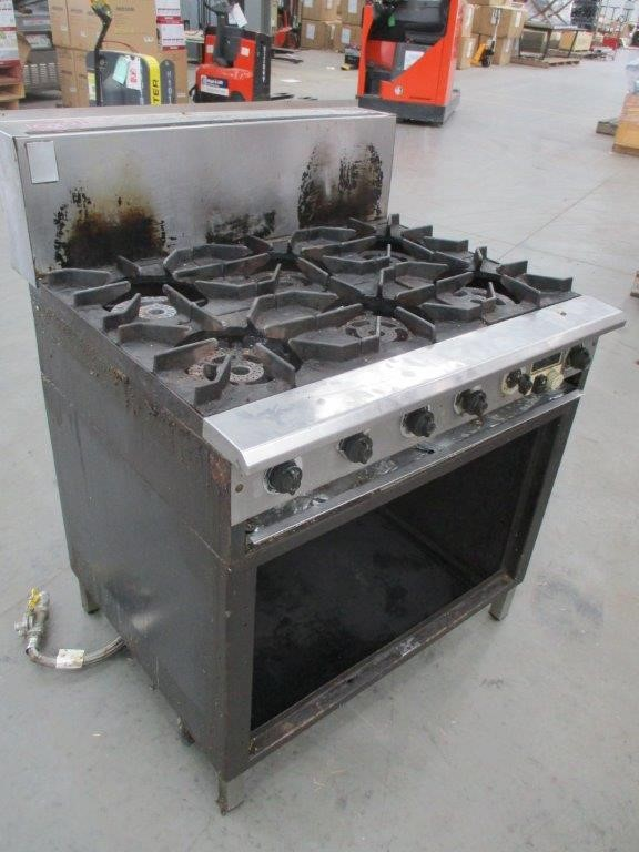 CS-6 Complete Commercial Gas Cooker