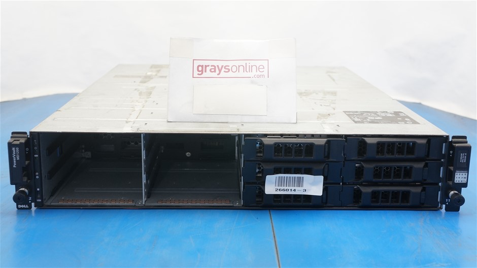 Dell PowerVault MD1200 Direct Attached Storage (No Hard Drives)