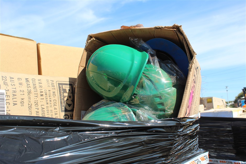 Pallet of Assorted PPE Auction (0190-9013525 ...
