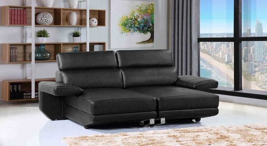Tango - Convertible Home Theatre Lounge, Black