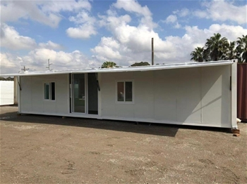 Container House/Portable Building /Office/Site Shed with Awning