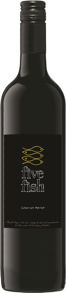 Five Fish Cabernet Merlot 2018 (12 x 750mL) SEA