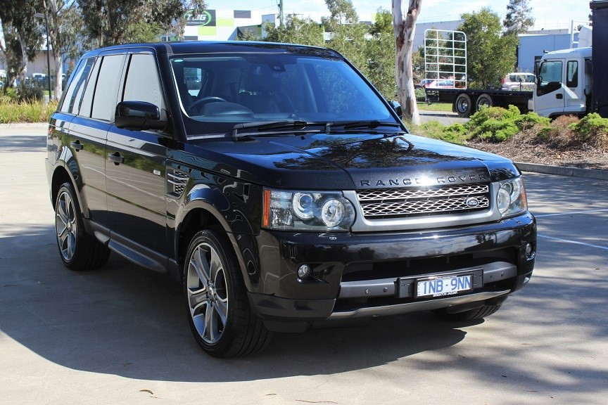 2010 Land Rover Range Rover Sport SuperCharged Luxury 4WD Automatic SUV