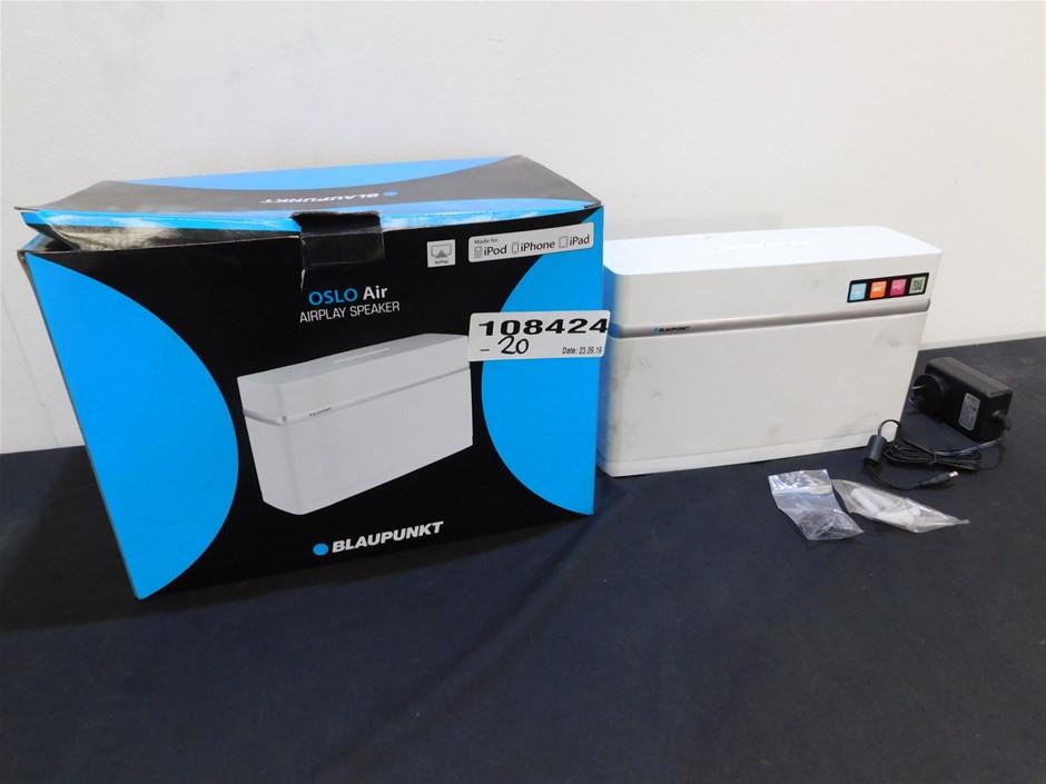 Balupunkt OSLOAISWHT Airplay Speaker