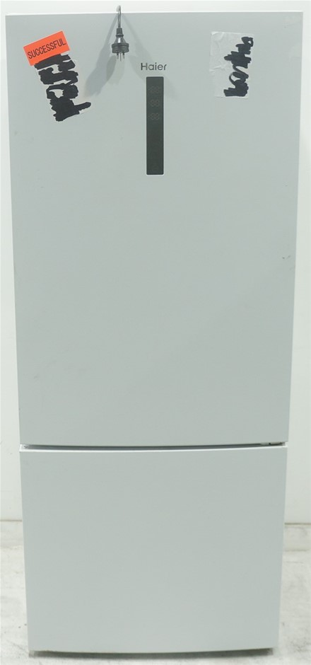 Haier 450L Bottom Mount Refrigerator (White) (HBM450WH1)