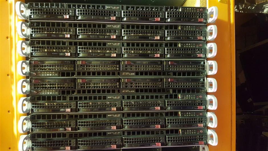 SuperMicro 12-Cores V2, 1U Server 2.4TB storage 384GB RAM