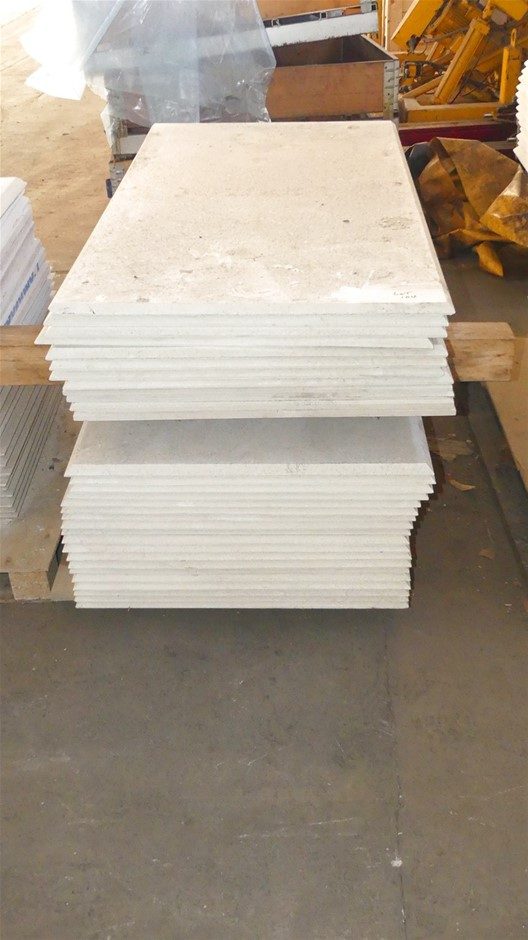 Qty 1 x Stack (approx. x 30 x Sheets) Compressed Concrete Sheeting