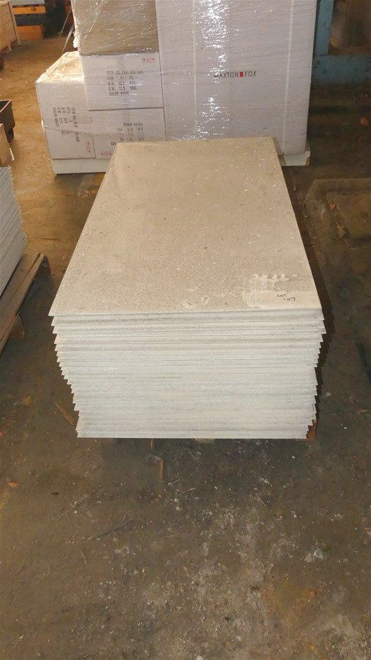 Qty 1 x Stack (approx. x 25 x Sheets) Compressed Concrete Sheeting