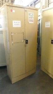 Qty 3 x Metal Storage Cabinets