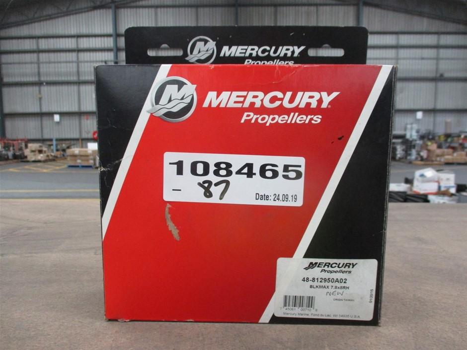Mercury Boat Outboard Motor Propeller