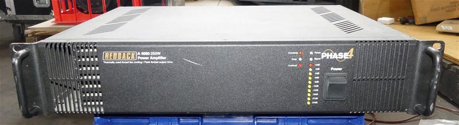Redback A4080 250W Amplifier