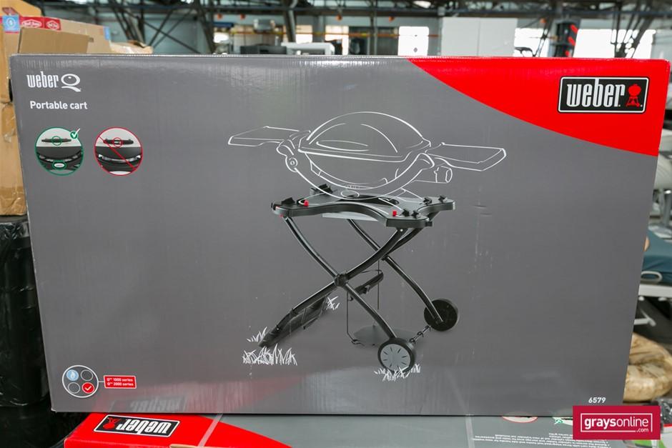 1 x Portable BBQ Cart Only - Weber Brand