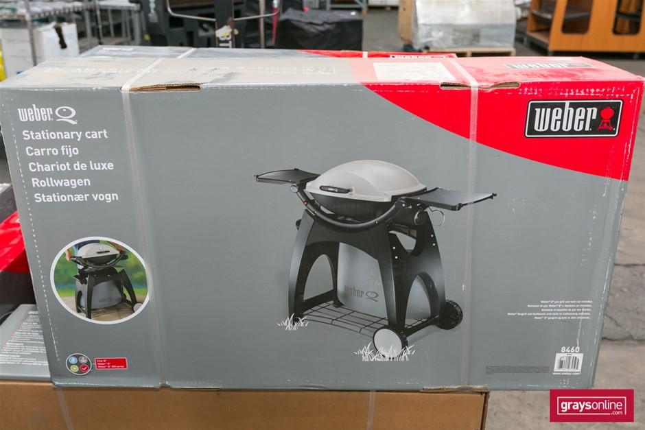 1 x Stationary BBQ Cart Only - Weber Brand