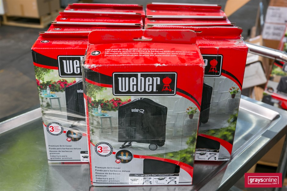 9 x BBQ Covers - Weber Brand