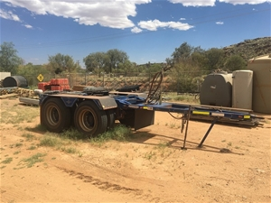 2016 Freightmaster Converter Dolly Tande