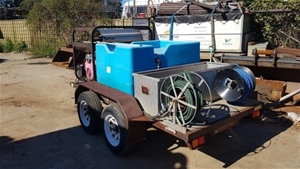 Hydrotek Hot and Cold Pressure Washer Tr