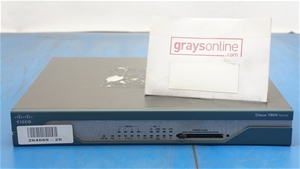Cisco 1801 Integrated Services Router CI