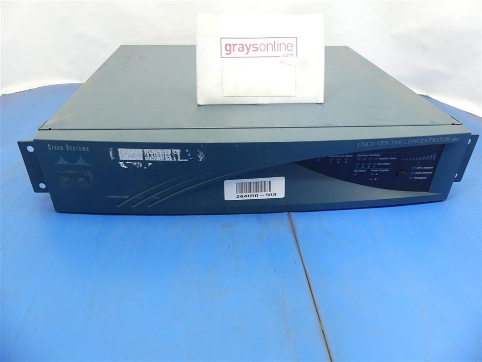 Cisco VPN ( 3030 ) 3000 Series VPN Concentrator