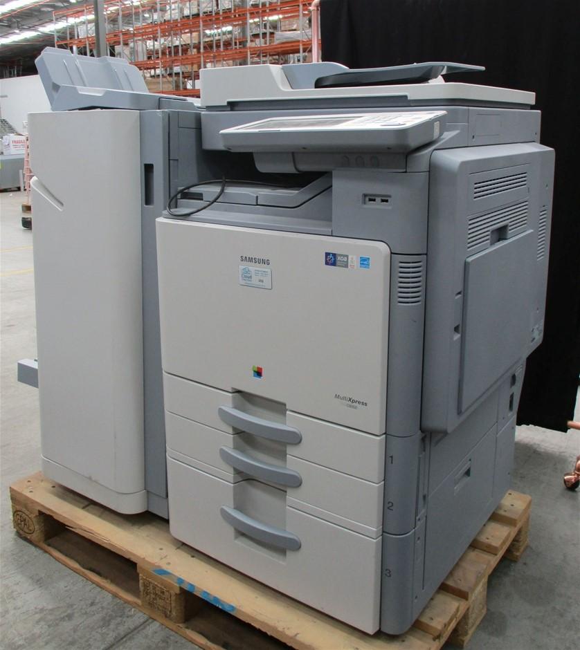 2014 Samsung CLX-9352NA Photocopier