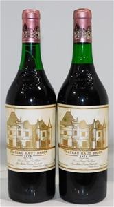 Chateau Haut Brion Graves 1978 (2x 750ml