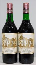 Chateau Haut Brion Graves 1978 (2x 750ml), Bordeaux. Cork closure.