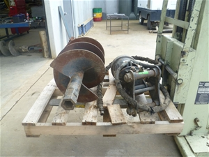 McMillan Auger Drive with 450 Diameter A
