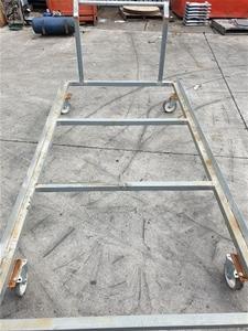 Galvanized steel Trolley 2650L x 1400W