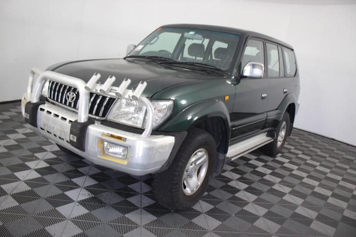 2001 Toyota Landcruiser Prado GXL (4x4) Automatic 7 Seat Wagon