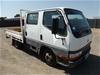 2000 Mitsubishi Canter L 500/600 4x2 Tray Body Truck (Pooraka, SA)