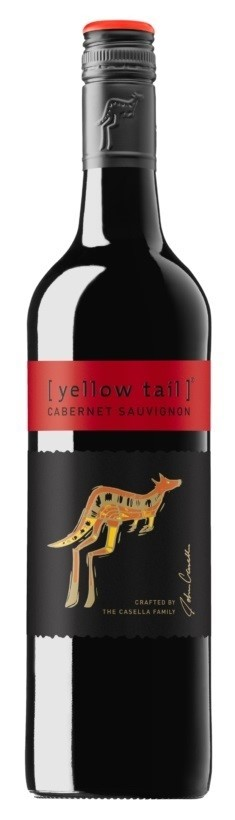 Yellowtail Cabernet Sauvignon (12 x 750mL), SE, AUS.