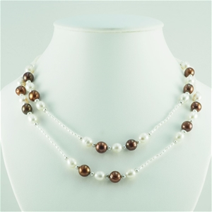 Natural Freshwater Pearl adjustable 90cm