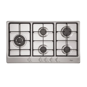 Euro 90cm Stainless Steel Gas Cooktop, M