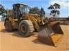2009 Caterpillar 950H Wheel Loader with Quick Hitch Bucket and Forks