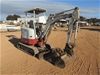 2009 Takeuchi TB23R Rubber Tracked Mini Excavator with Buckets