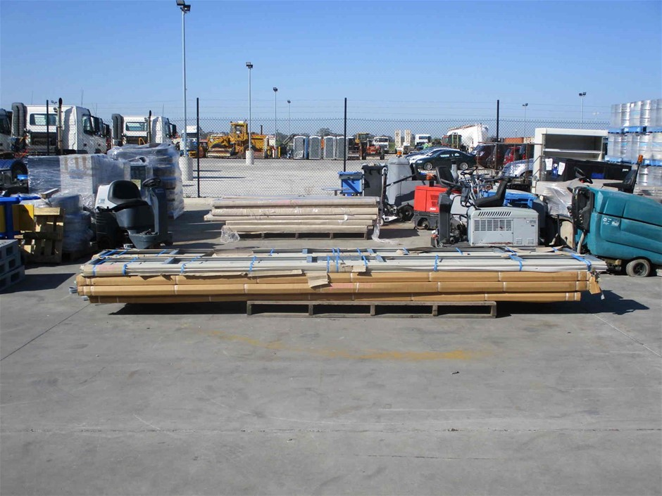 Pallet of Approximately 12 x Assorted Panel Door Sections