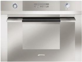 Smeg 60cm Stainless Steel Steam Oven, Linear Series, Model: SCA45V2