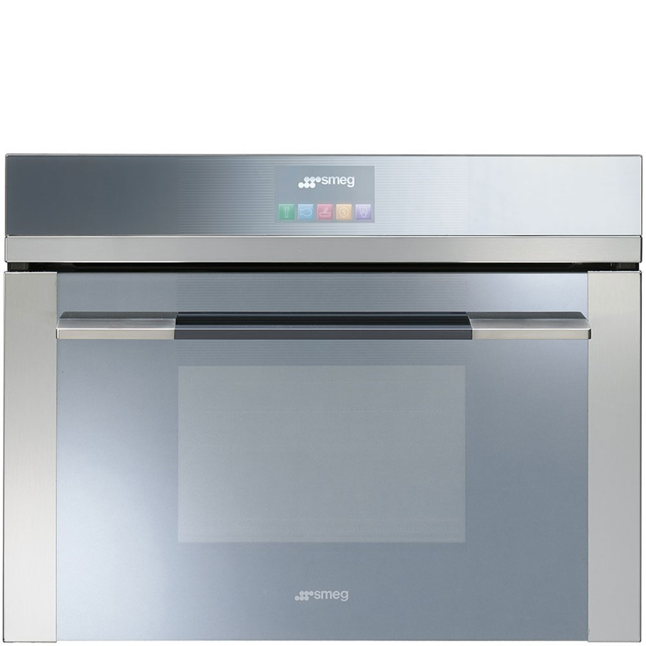 Smeg 60cm Touch Compact Oven, Linear Aesthetic Model: SFA4140MC