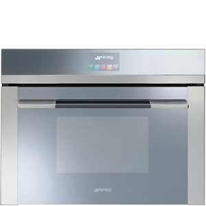 Smeg 60cm Touch Compact Oven, Linear Aes
