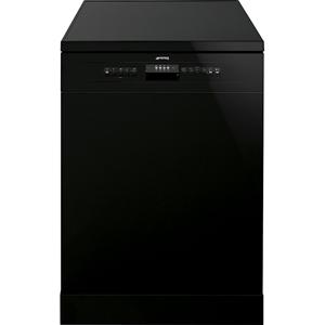 Smeg 60cm Black Freestanding Dishwasher,