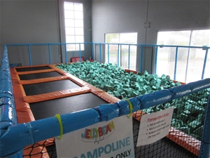 Indoor Commercial Grade Trampoline Centr