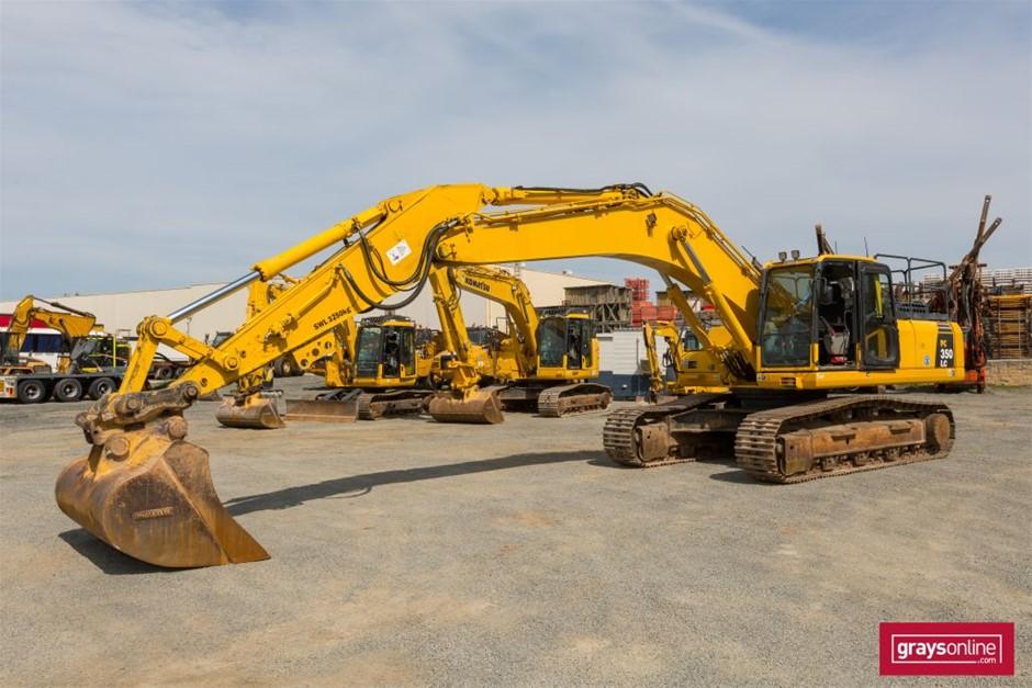 2014 Komatsu PC350LC-8HYD Hydraulic Excavator