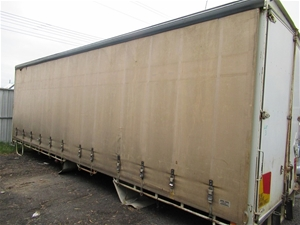 Curtainside Truck Body