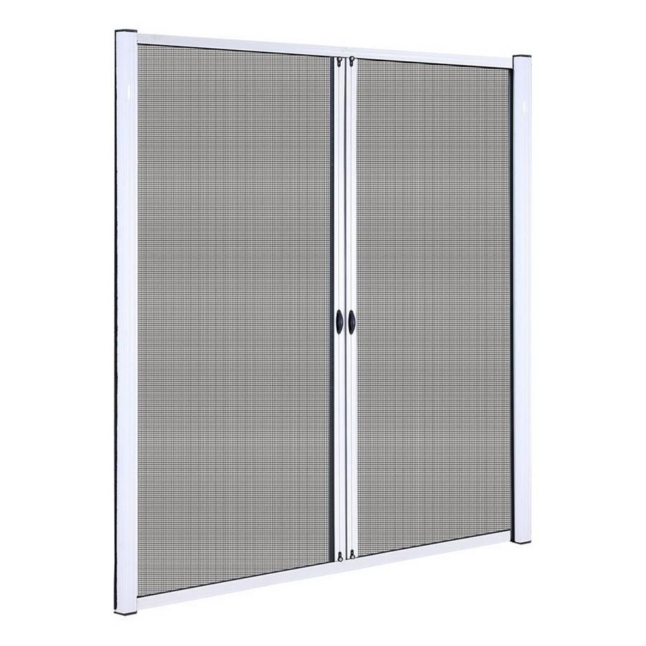 Instahut Retractable Magnetic Fly Screen Door Mesh Sliding 2.3m x 2.4m
