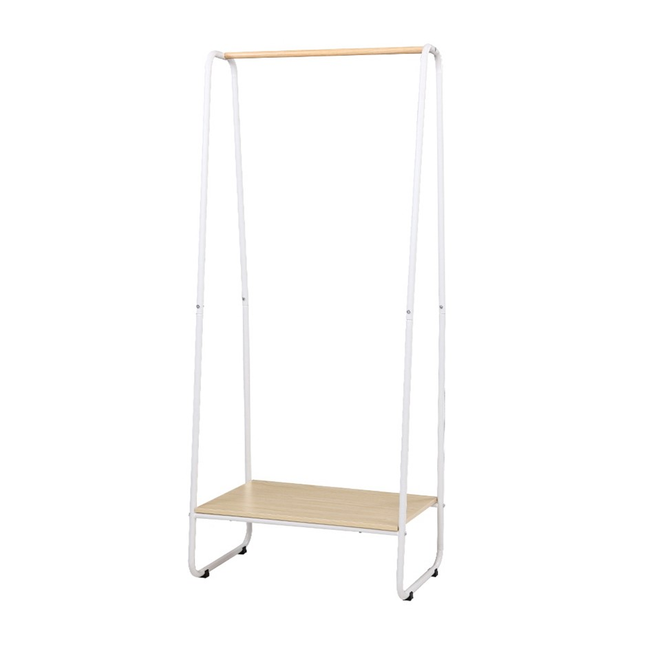 Closet Storage Rack Clothes Hanger Garment Rail Stand Wardrobe Organiser
