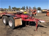 Tandem Axle Road Train Dolly