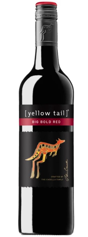 Yellow Tail Big Bold Red NV (12x 750mL) SEA